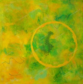 Acrylic on canvas 100x100 cm.